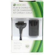 Xbox 360 Play &amp; Charge Kit (Black)