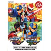 RockMan EXE 5 Postcard Book