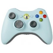 Xbox 360 Wireless Controller (Light Blue)