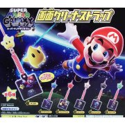 Super Mario Galaxy Screen Cleaner Strap Gashapon