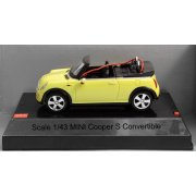 MJX R/C Technic 1/43 Scale Mini Cooper S Convertible (Yellow)
