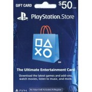 PlayStation Network Card (US$ 50 / for US network only)
