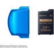 PSP PlayStation Portable Battery Pack (2200mAh) (Vibrant Blue)