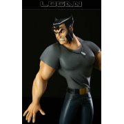 Wolverine And The X-Men Animated Series - Logan Statue
