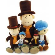 Thumbnail for Layton Kyouju Key Chain Plush Doll: Professor Layton (Mini)