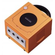 Game Cube Console - Spice Orange