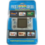 NeoGeo Pocket Color Bundle (incl. 6 games) - Crystal White