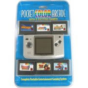NeoGeo Pocket Color Bundle (incl. 6 games) - Platinum Silver