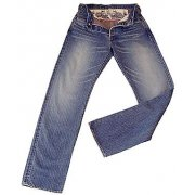 biohazard4 Leon's Collection: 5P denim trousers (blue/S)