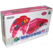 Nintendo64 (clear red)