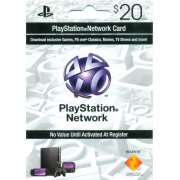 PlayStation Network Card (US$ 20 / for US network only)