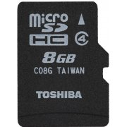 Toshiba Micro SD Card 8GB Class 4