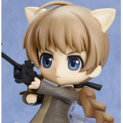 Nendoroid Strike Witches Non Scale Pre-Painted PVC Figure: Lynette Bishop
