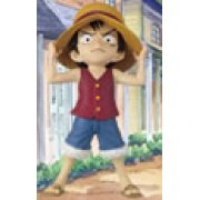 One Piece World Collectable Pre-Painted PVC Figure vol.12: TV0089 - Monkey D. Luffy