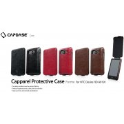 HTC Desire HD A9191 Capparel Protective Case (Dark Brown)