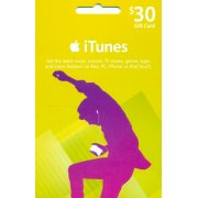 iTunes Card (US$ 30 / for US accounts only)