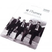 iTunes Card / Beatles (5000 Yen / for Japan accounts only)