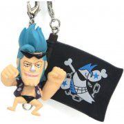One Piece Pre-Painted PVC Key Chain Vol.3: Franky