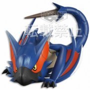 Monster Hunter - Poka Poka Airu Mura Pre-Painted PVC Figure: Narugakuruga
