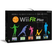Wii Fit Plus (w/ Wii Board black)
