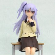Angel Beats! Non Scale Pre-Painted PVC Scene Figure: Kanade School Uniform Ver.
