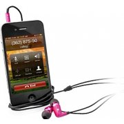 Hands-free Earphone (Pink)