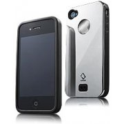 Alumor iPhone 4 / 4S  Case (Black Mirror)
