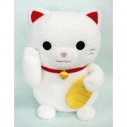 Caltoy Plush Doll: Lucky Cat White Ver.