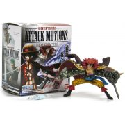 One Piece Attack Motions - New Chapter Collection Pre-Painted Trading Figure