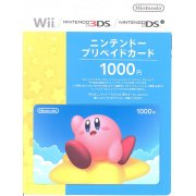 Nintendo Network Card / Ticket - Kirby Edition (1000 YEN / for Japanese network only) [retail packing]