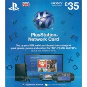 PlayStation Network Card (GB&amp;#163; 35  / for UK network only) 