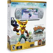 PSP-3000 Limited Edition Ratchet and Clank Entertainment Pack (Silver)