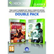 Tom Clancy's Rainbow Six Vegas 2 & Ghost Recon Advanced Warfighter 2 Double Pack (Classics)