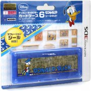 Disney Character Card Case 6 Seal Set for Nintendo 3DS (Donald)