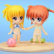Nendoroid Petit Magical Girl Lyrical The Movie 1st: Nanoha and Fate Summer Memories