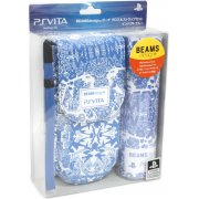 BEAMSdesign PS Vita Pouch Clothing & Pouch Set (Impact Blue)