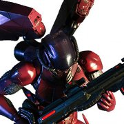 Vanquish Play Arts Kai Non Scale Pre-Painted PVC Figure: BOGEY