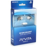 PSVita PlayStation Vita Earphone [Crystal White]