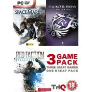 Saints Row The Third, Space Marine & Red Faction Armageddon Triple Pack (DVD-ROM)