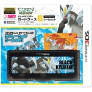 Pocket Monster Card Case 6 Seal Set for Nintendo 3DS (Black Kyurem Version)