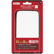 Semi Hard Pouch for 3DS LL (White)