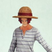 One Piece The Grandline Men Vol. 0 DX Pre-Painted PVC Figure: Shanks