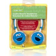 DreamGear Cookie Monster Headphones - Blue