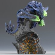 Capcom Figure Builder Creaters Model Non Scale Pre-Painted PVC Figure: Brakydiose