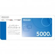 Nintendo Network Card / Ticket (5000 YEN / for Japanese network only)