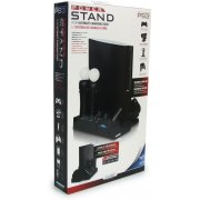 DreamGear Power Stand - Rubberized Black