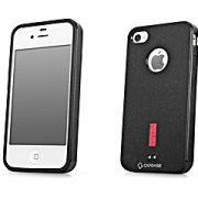 Soft Jacket iPhone 4 / 4S  Case (Solid Black)