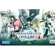 Web Money 2000 - Phantasy Star Online 2 Design Prepaid Card