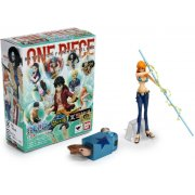 One Piece Pre-Painted Trading Figure: Mugiwara Pirates - Fierce Fght ! Fishman Island battle (Re-run) (Bundle Set)