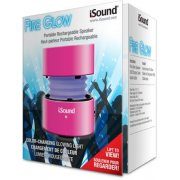 Thumbnail for i.Sound Fire Glow Mini Wired Rechargeable Glowing Speaker (Pink)